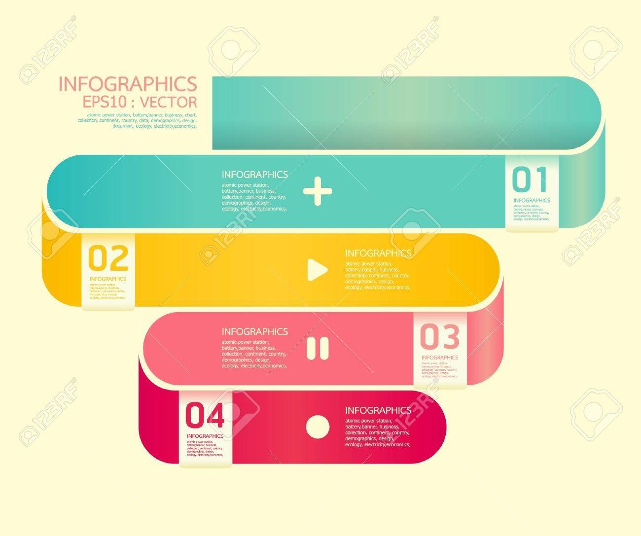 Modern  Curve soft color Design template Stock Vector - 15831647