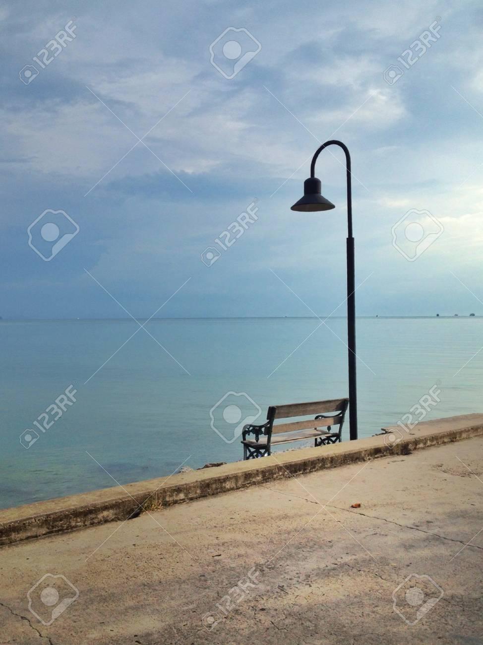 Chair on the beach. Stock Photo - 20625179