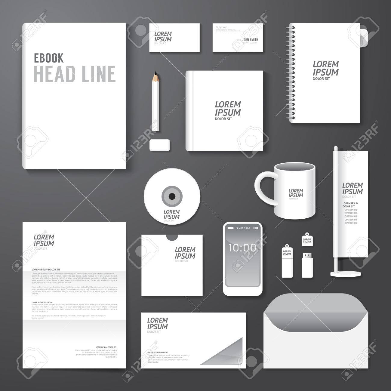 Poster design layout - Vector Vector Brochure Flyer Magazine Cover Booklet Poster Design Template Layout Blank Business Stationery Annual Report A4 Size Set Of Corporate