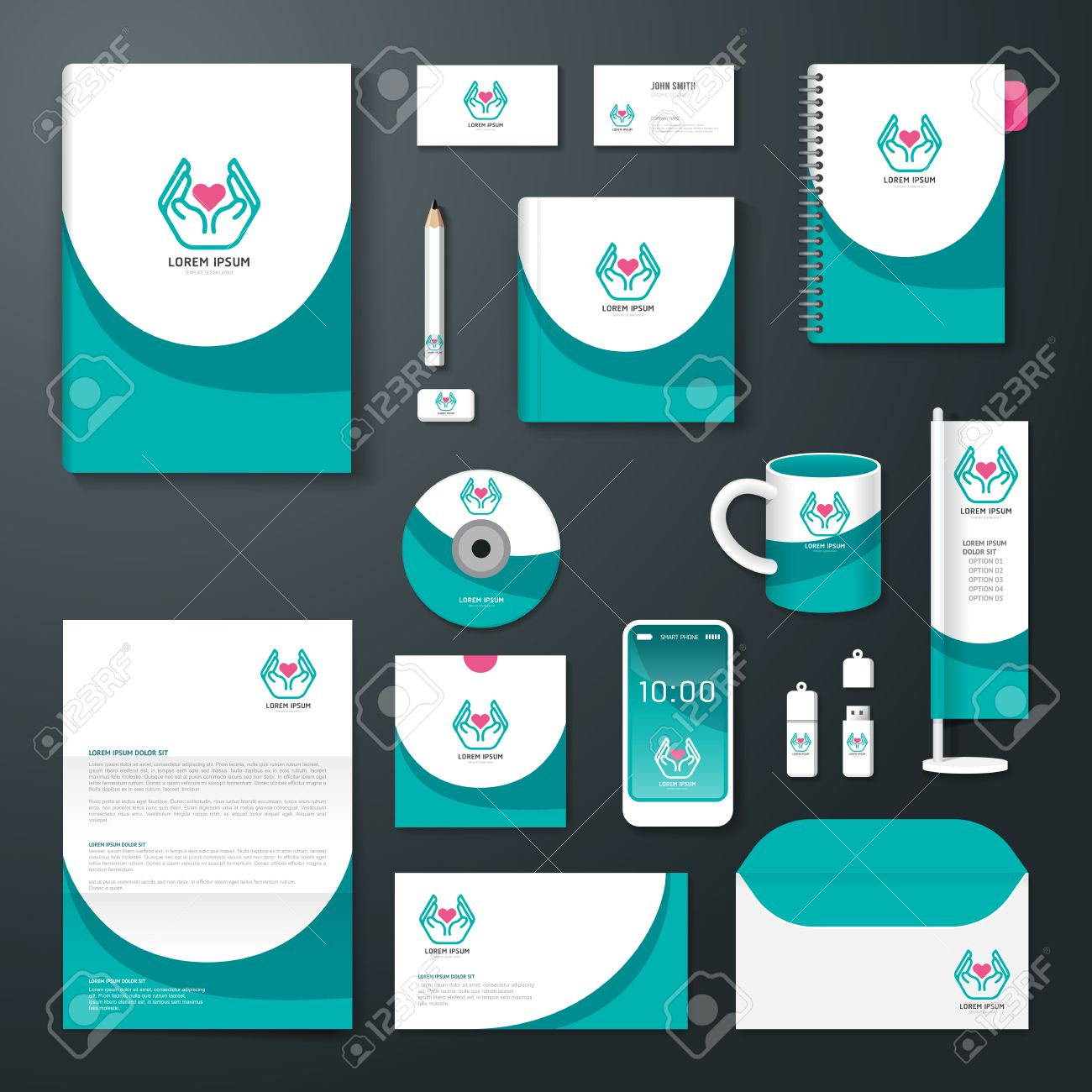 Poster design health - Vector Vector Brochure Flyer Magazine Cover Booklet Poster Design Template Layout Business Stationery Annual Report A4 Size Set Of Health Corporate