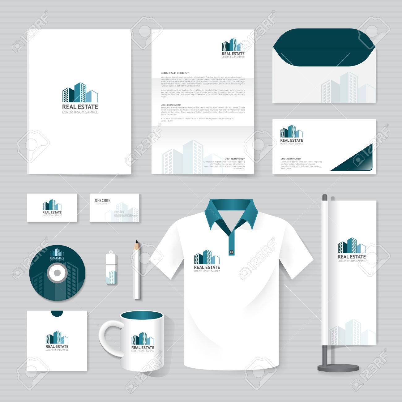 Real estate billboard design samples - Vector Brochure Flyer Magazine Folder T Shirt Cover Booklet Poster