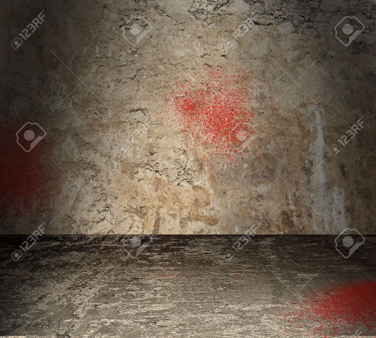 Torture chamber with bloodstained walls Stock Photo - 12726385