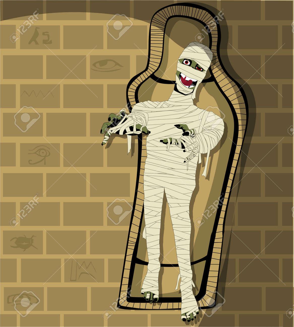 Egyptian Mummy Stock Vector - 10573981