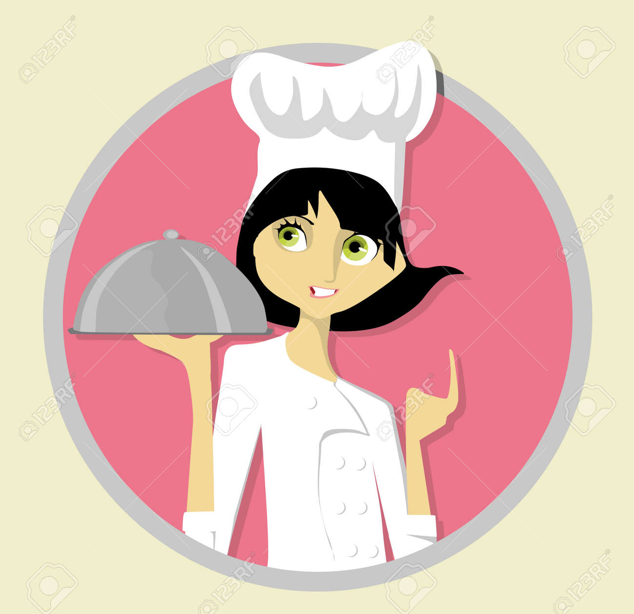 Young Chef Stock Vector - 10605971