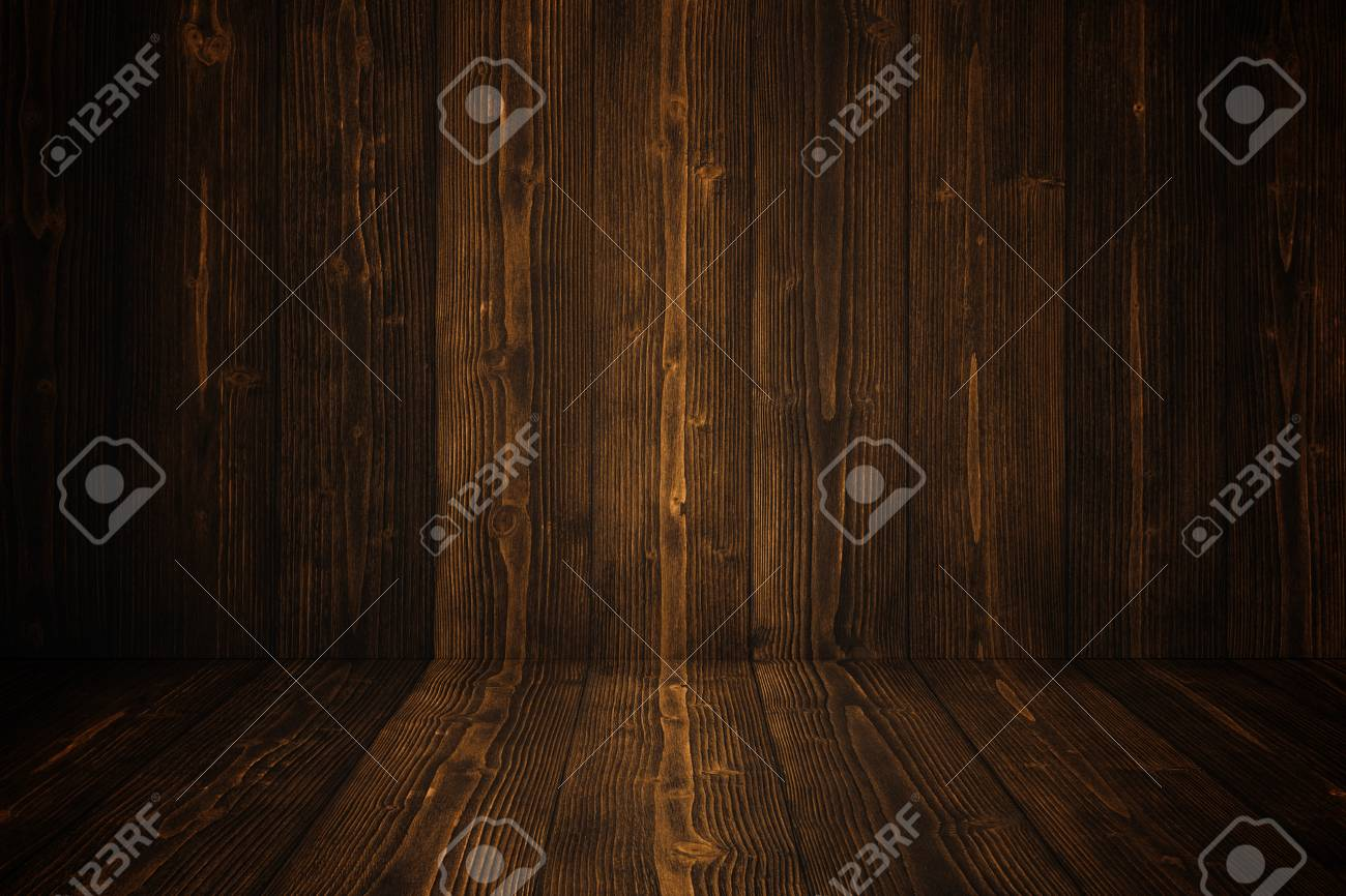 Grunge Dark Wood Background Wall And Floor Wooden Texture Surface