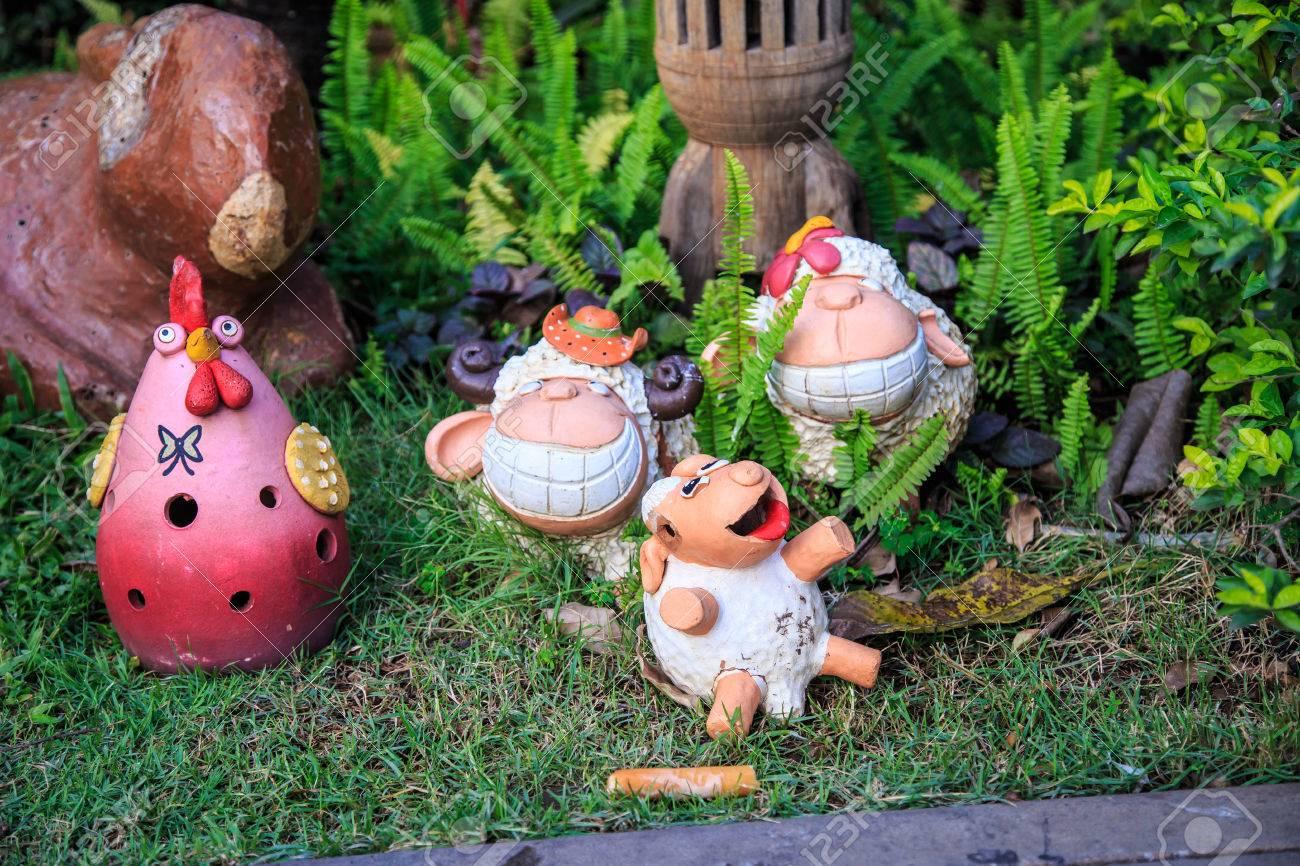 Doll Jardin Decoration Sculpture En Ceramique Couramment Utilises