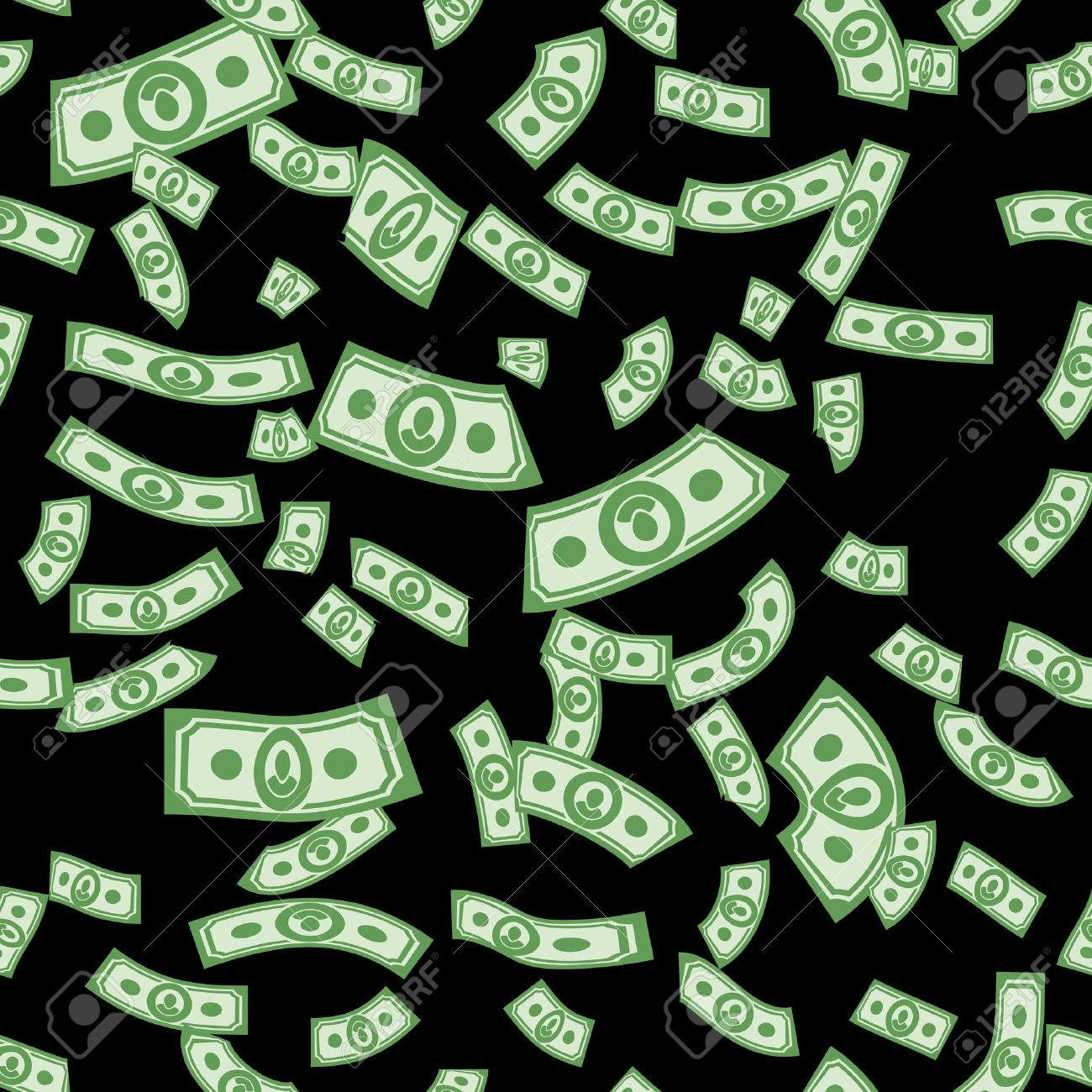 Money patterns seamless, money background from dollars - 36514324