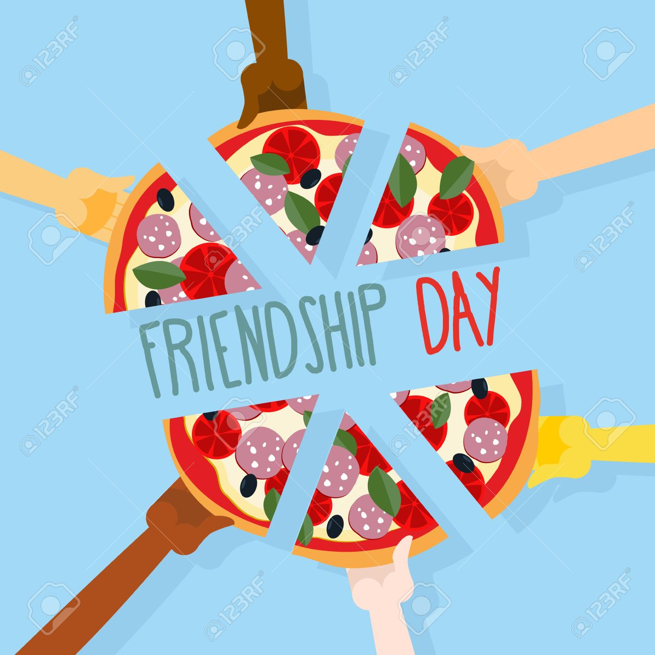 244 International Friends Day Stock Vector Illustration And ...