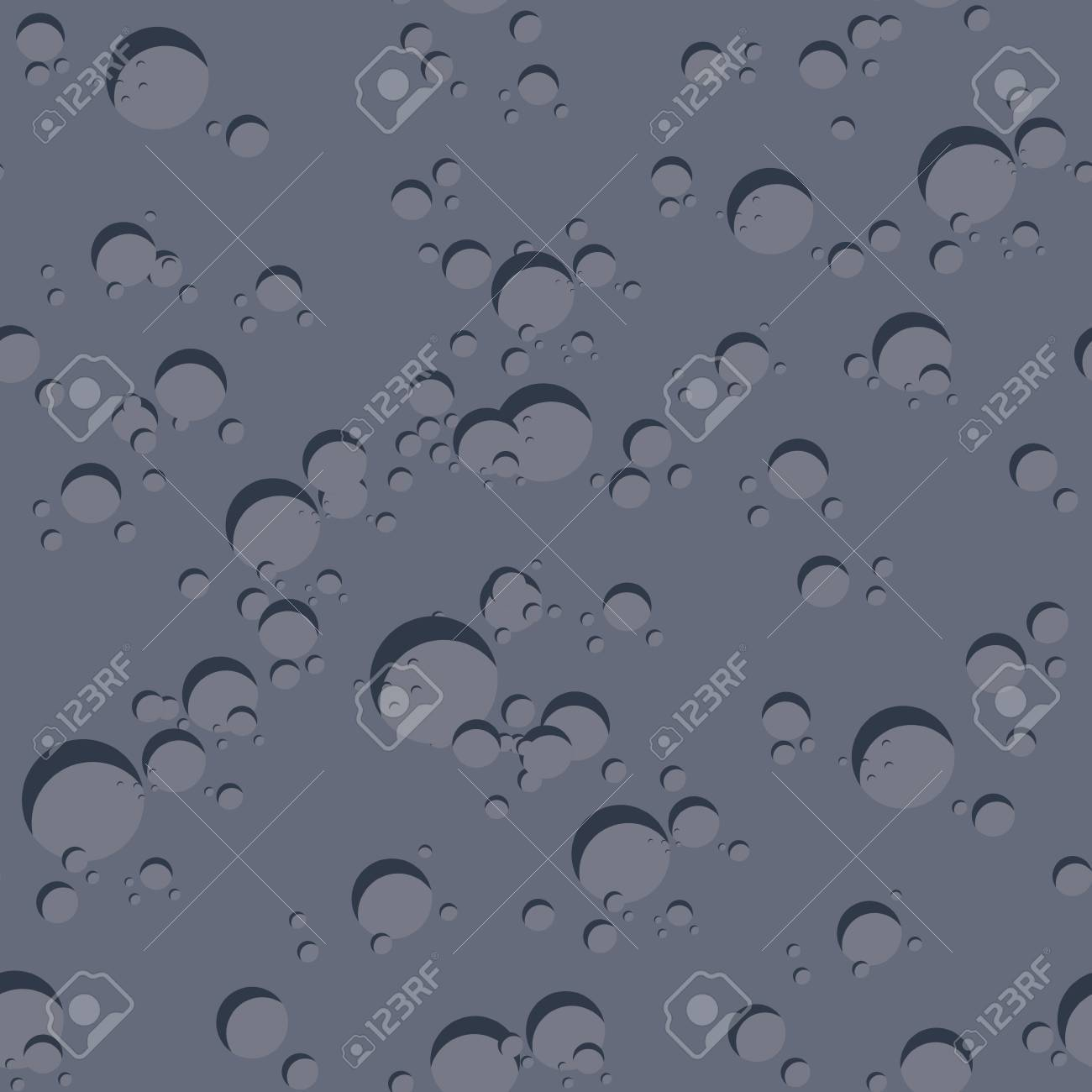 Texture of dark planet  Seamless pattern of surface of moon