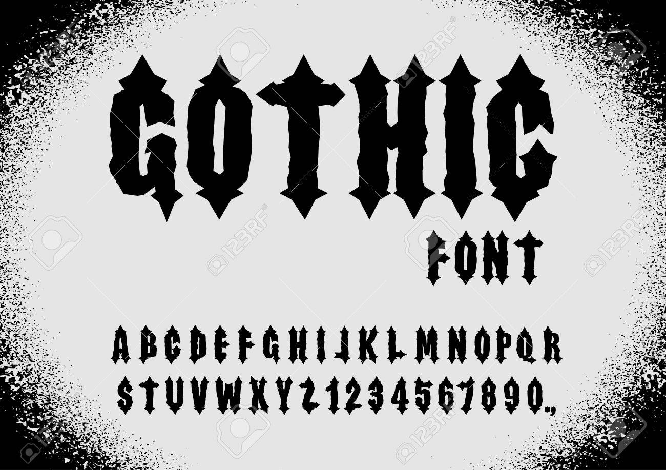Police gothique police antique lettres gothiques alphabet vintage police gothique police antique lettres gothiques alphabet vintage lettres et chiffres rtro thecheapjerseys Choice Image
