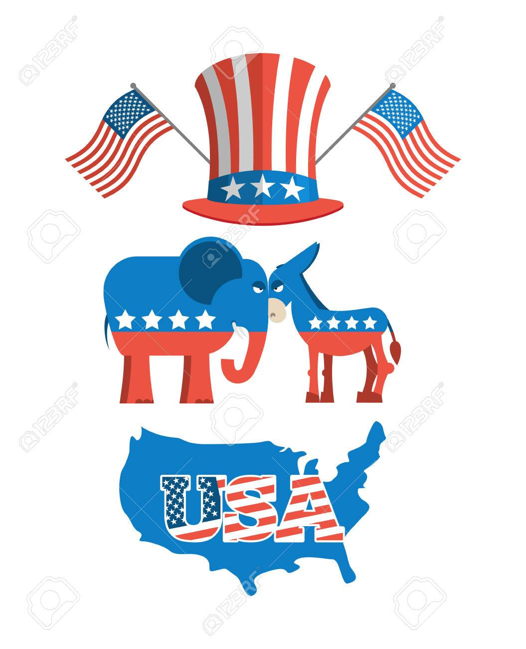Set elections in america uncle sam hat american flag set set elections in america uncle sam hat american flag set political debate in biocorpaavc Images