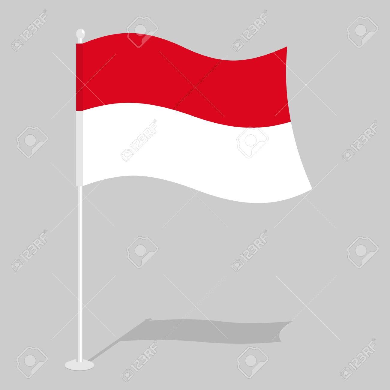 Drapeau De L Indonésie drapeau indonésie. symbole national officiel de la république d