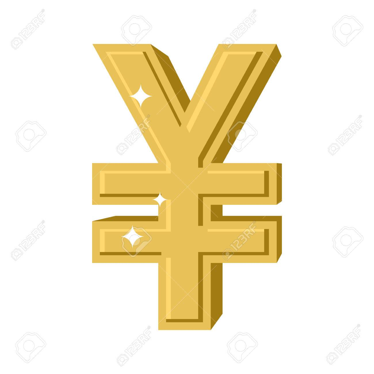 Golden chinese yen symbol of money in china cash sign in china golden chinese yen symbol of money in china cash sign in china from yellow biocorpaavc Choice Image