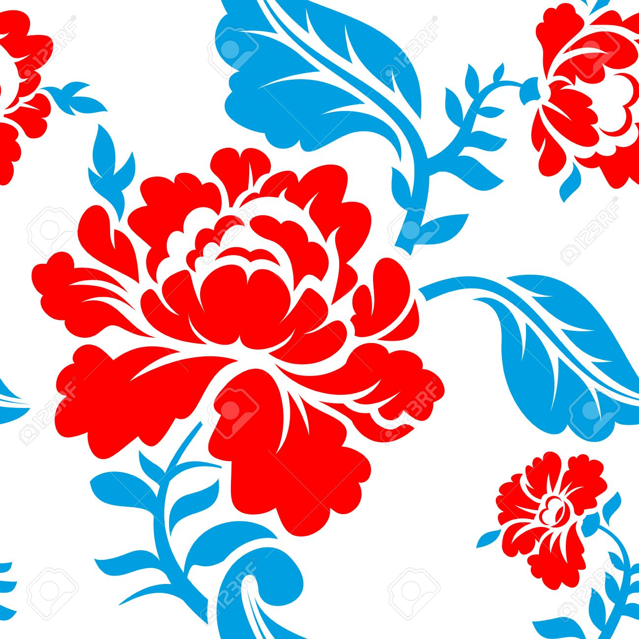 Russian national flower pattern colors of russia flag tricolor russian national flower pattern colors of russia flag tricolor red blue and mightylinksfo
