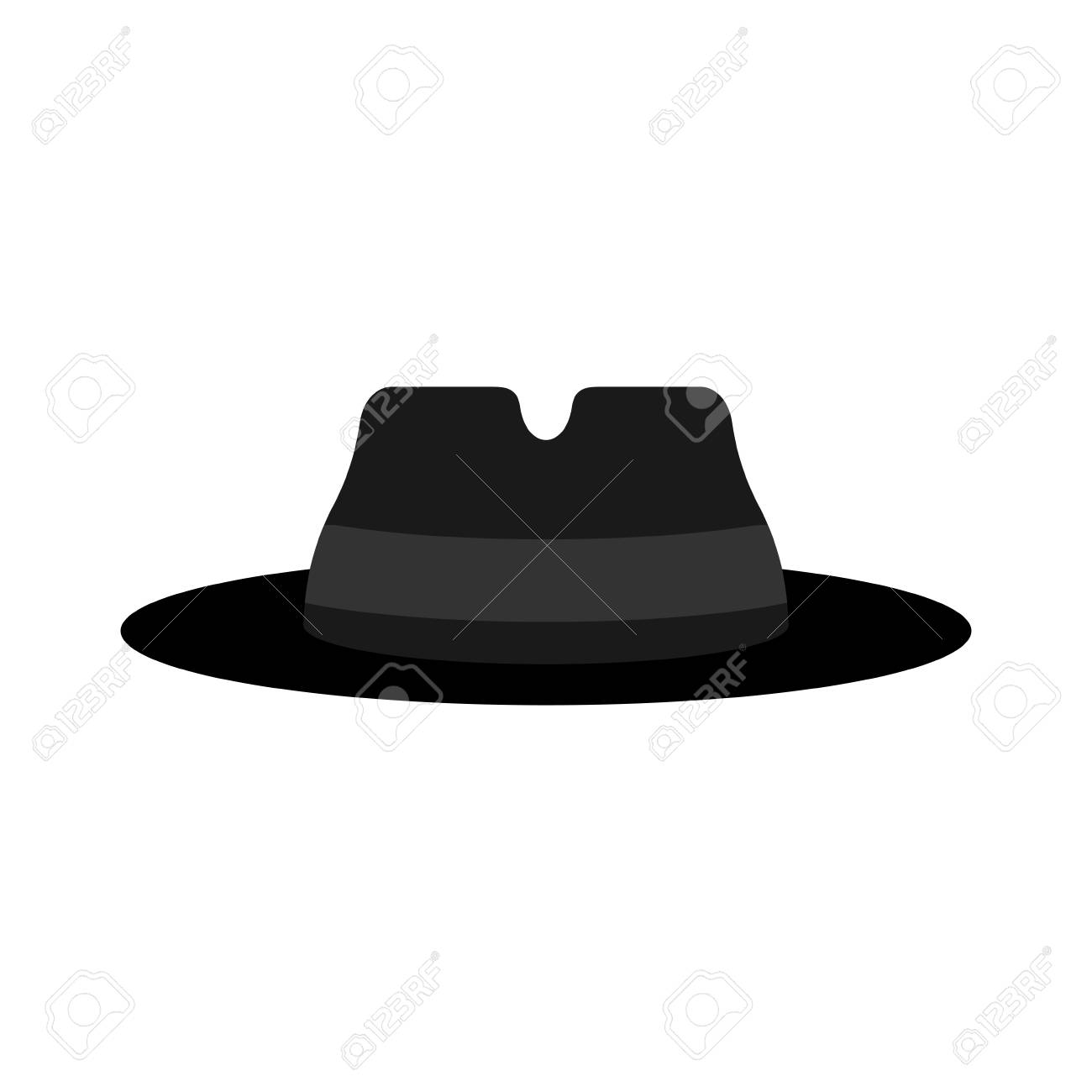 Fedora Hat Isolated Detective Hat Vector Illustration Royalty Free Cliparts Vectors And Stock Illustration Image 91804245 — more than 51 products with photos and customer's reviews in joom catalogue. fedora hat isolated detective hat vector illustration