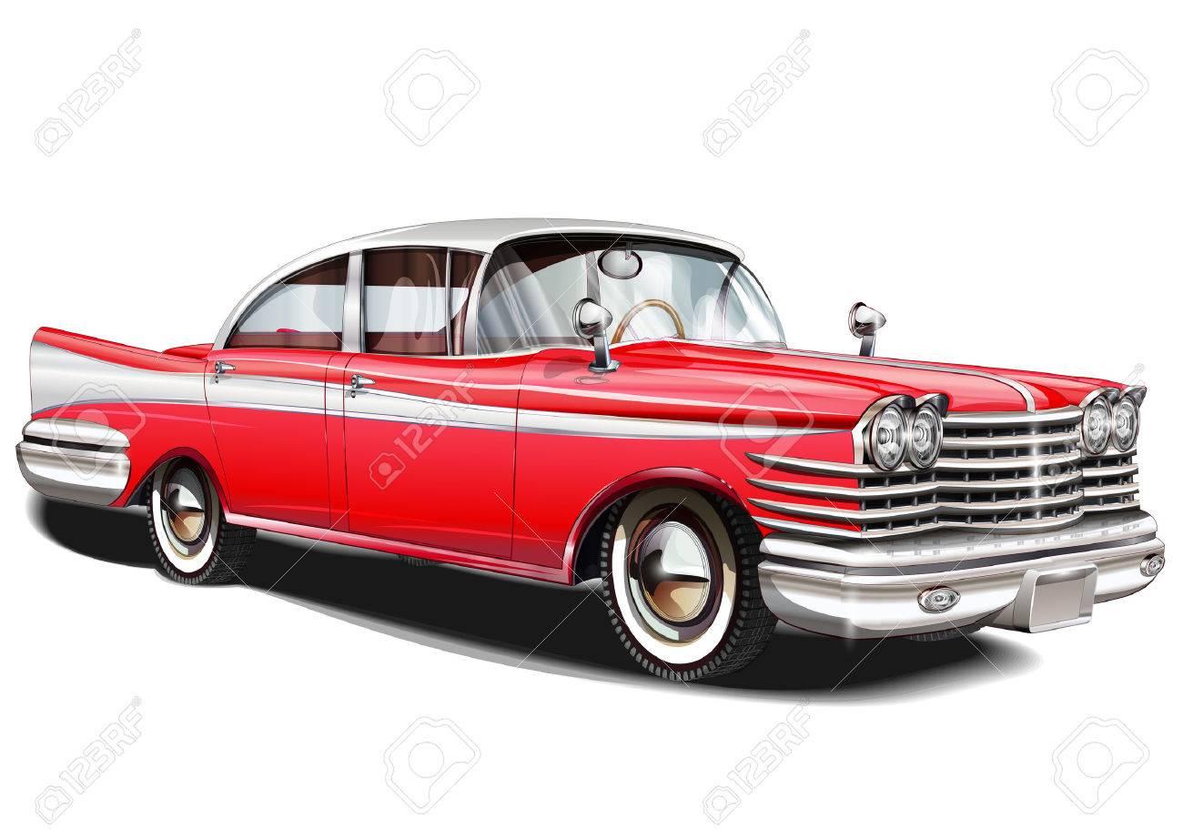 Retro car. - 50143100