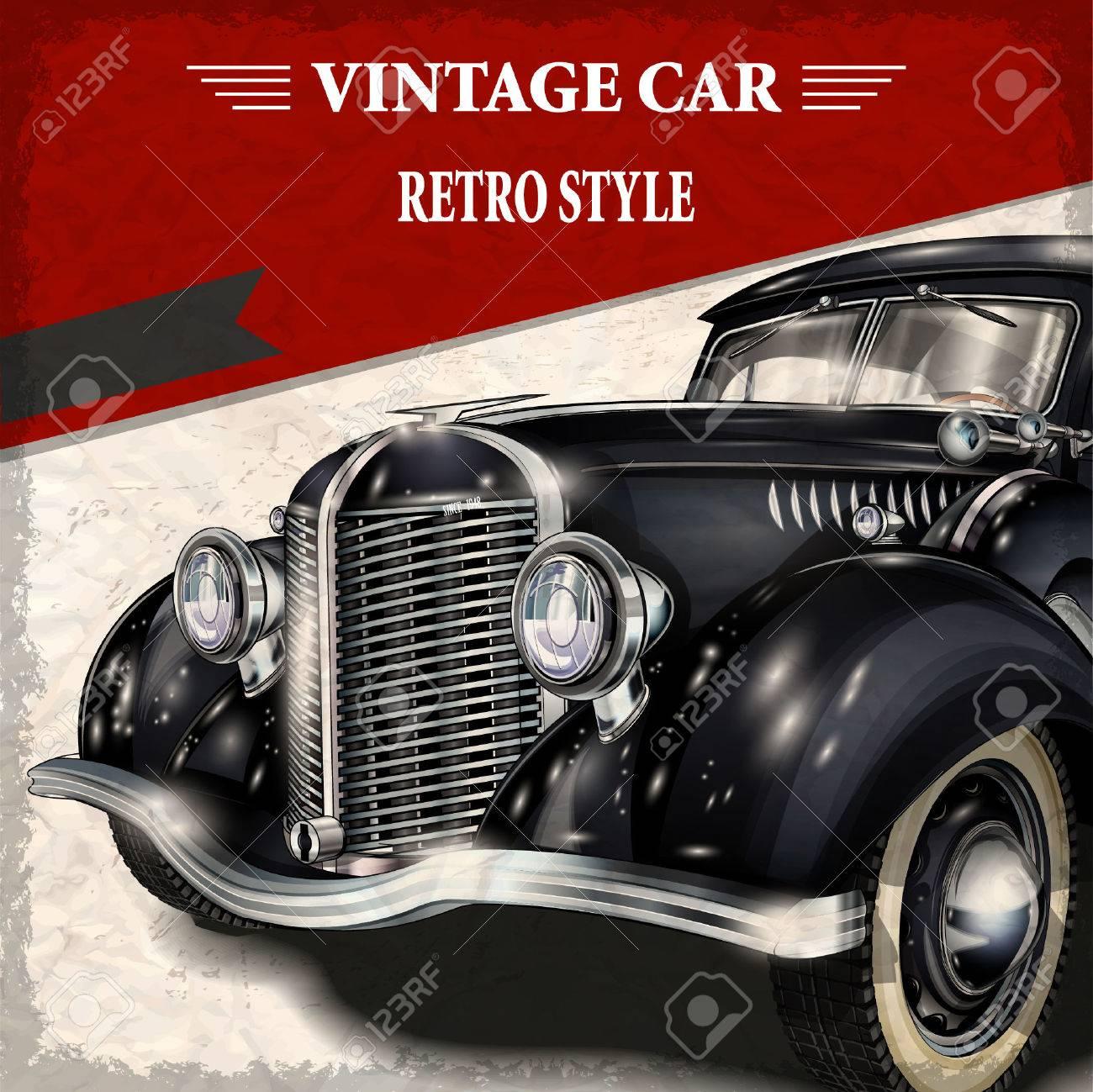 Vintage car - 52512414