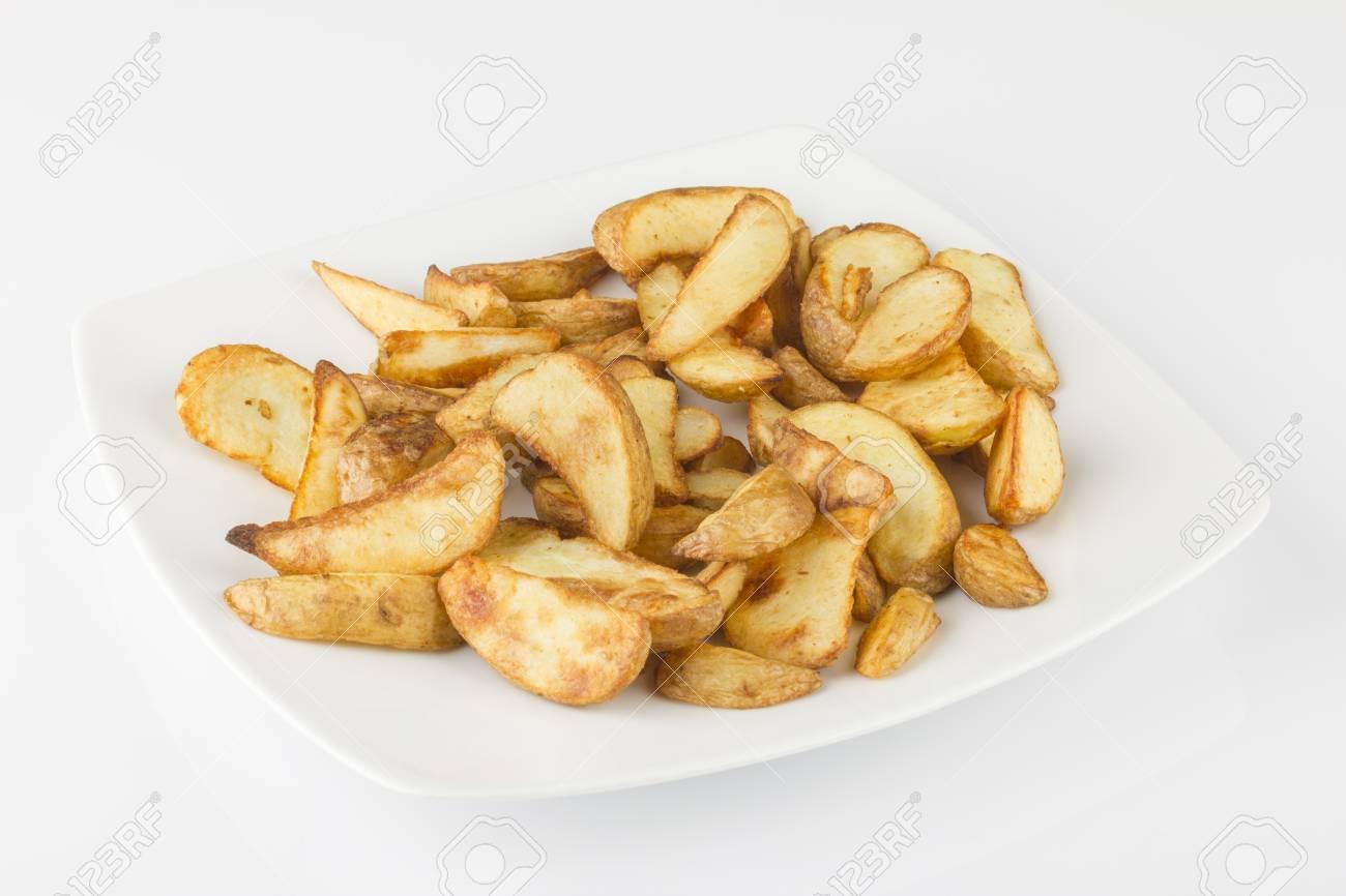 Baked potatoes - 14387809