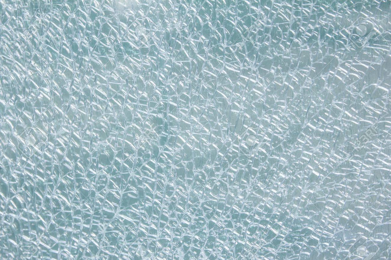 Broken tempered glass - 14459151