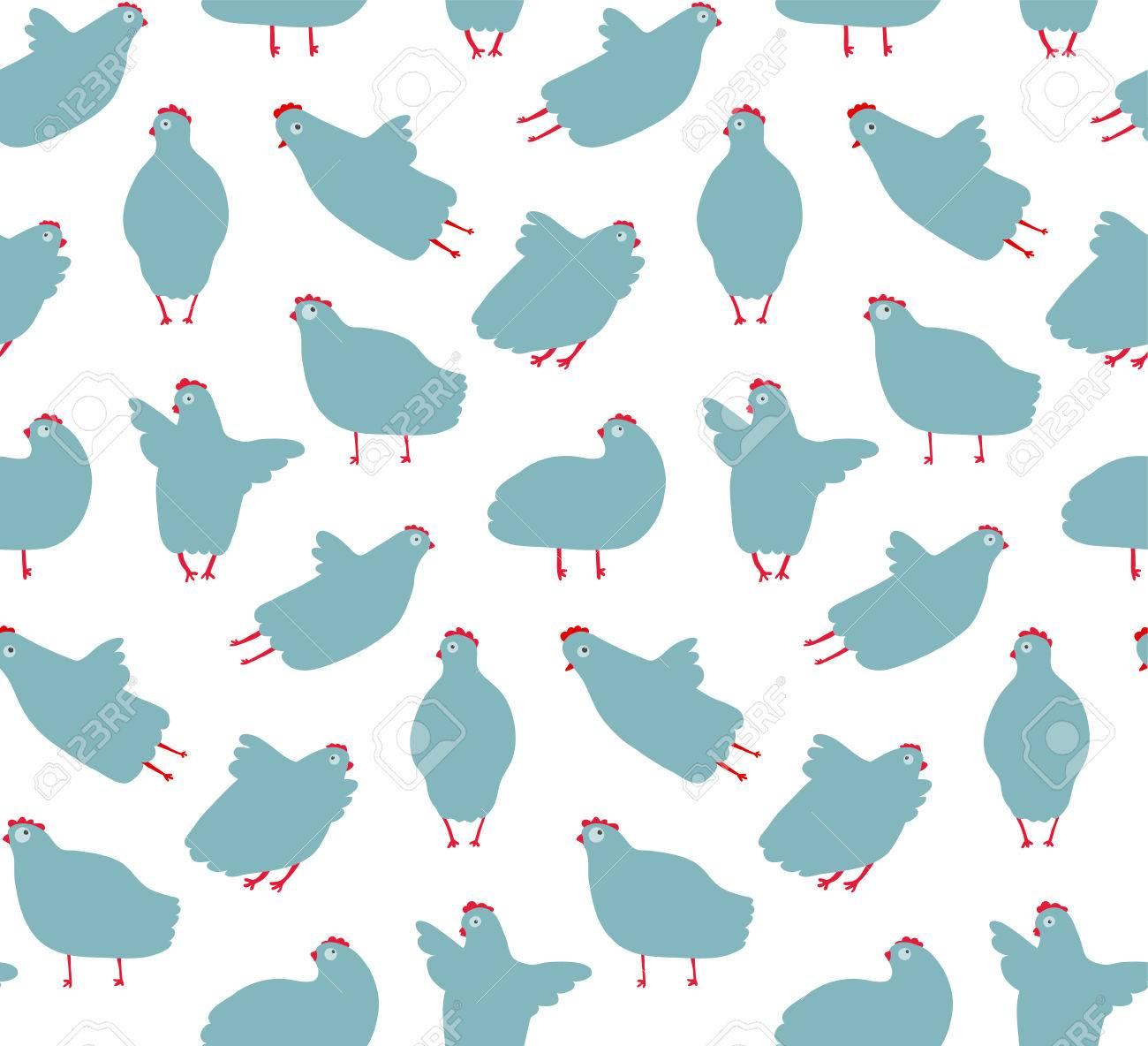 Gallina Divertida Diseño De Fondo Transparente De Aves De Gallina En ...