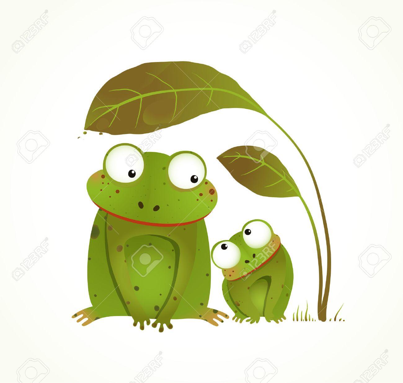Duas Ras Mae E Bebe Infantil Animal Cartoon Desenho De Estilo
