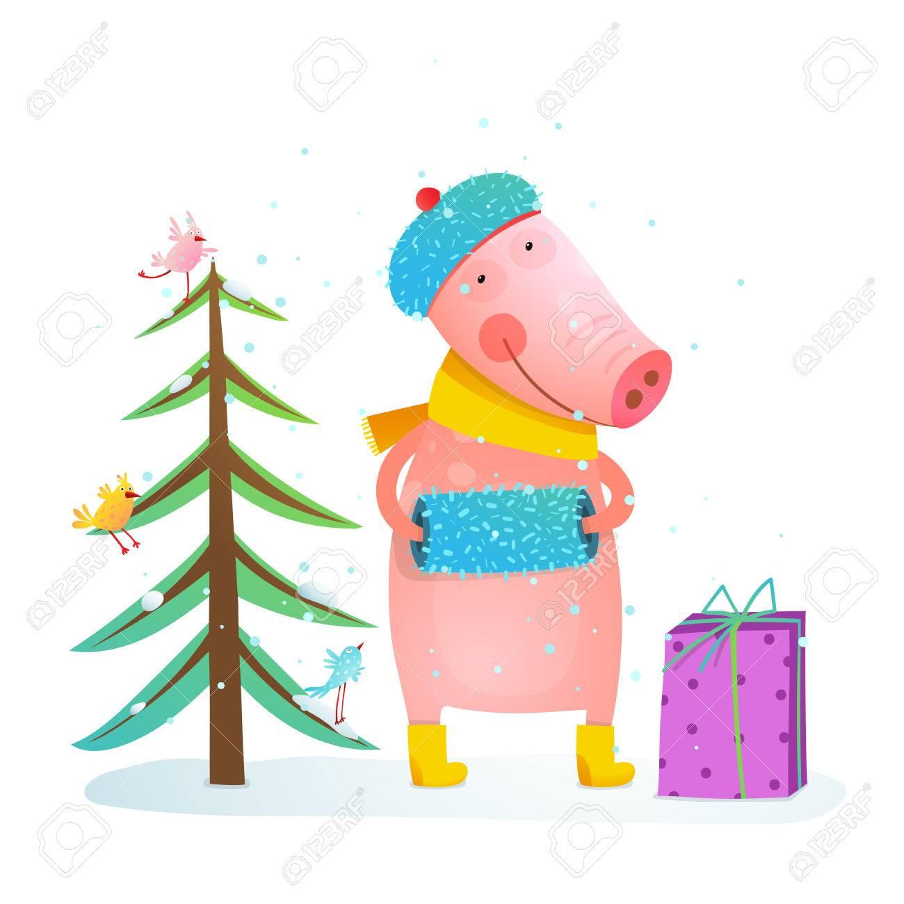 Dibujos Animados De Colores Para Ninos Vacaciones De Invierno