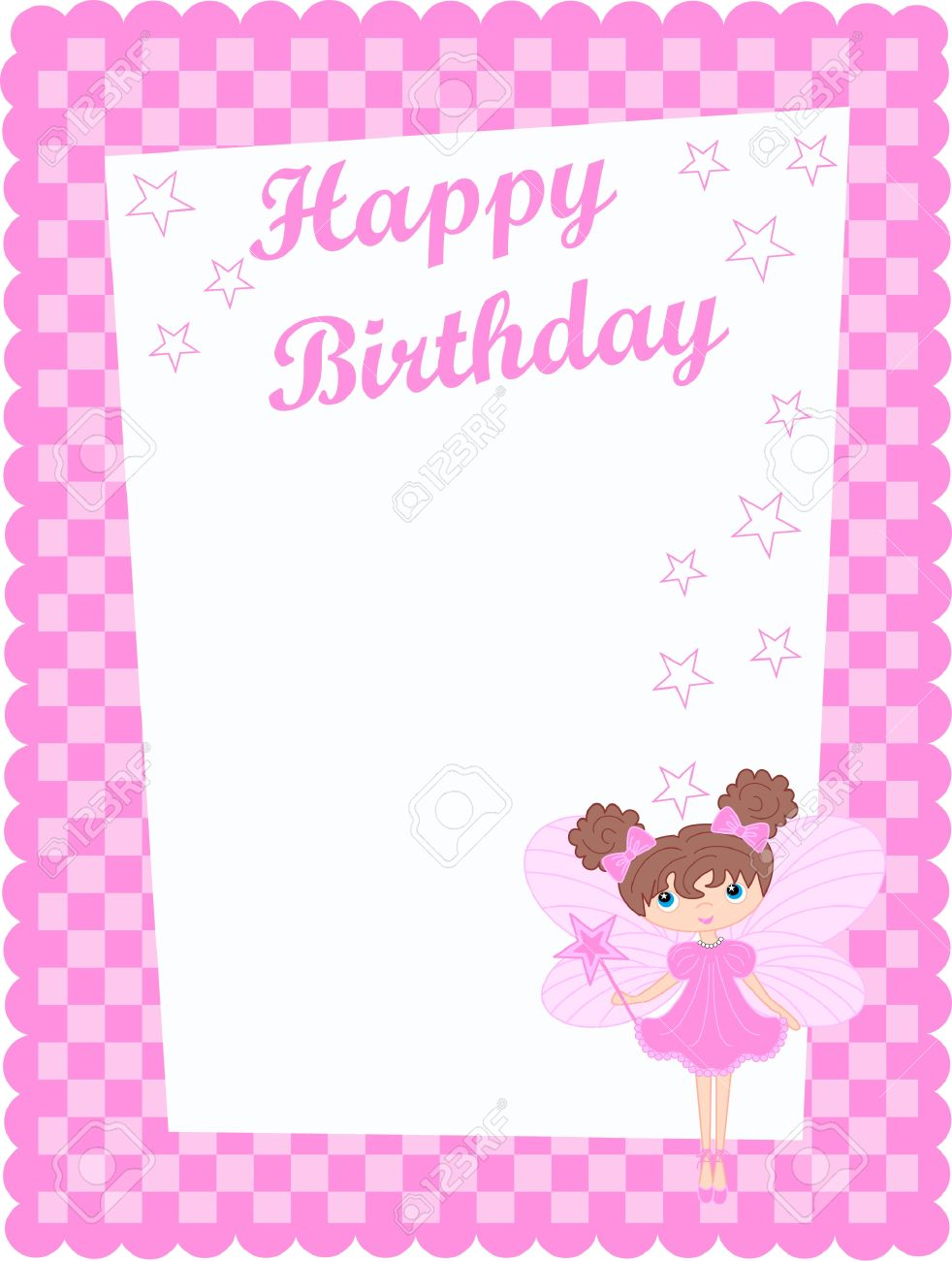 happy birthday card royalty free cliparts, vectors, and stock, Birthday card