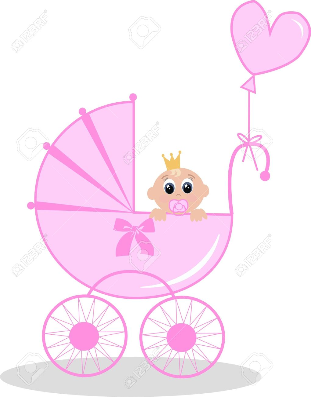 New Born Baby Girl Cartoon Images Baby Viewer