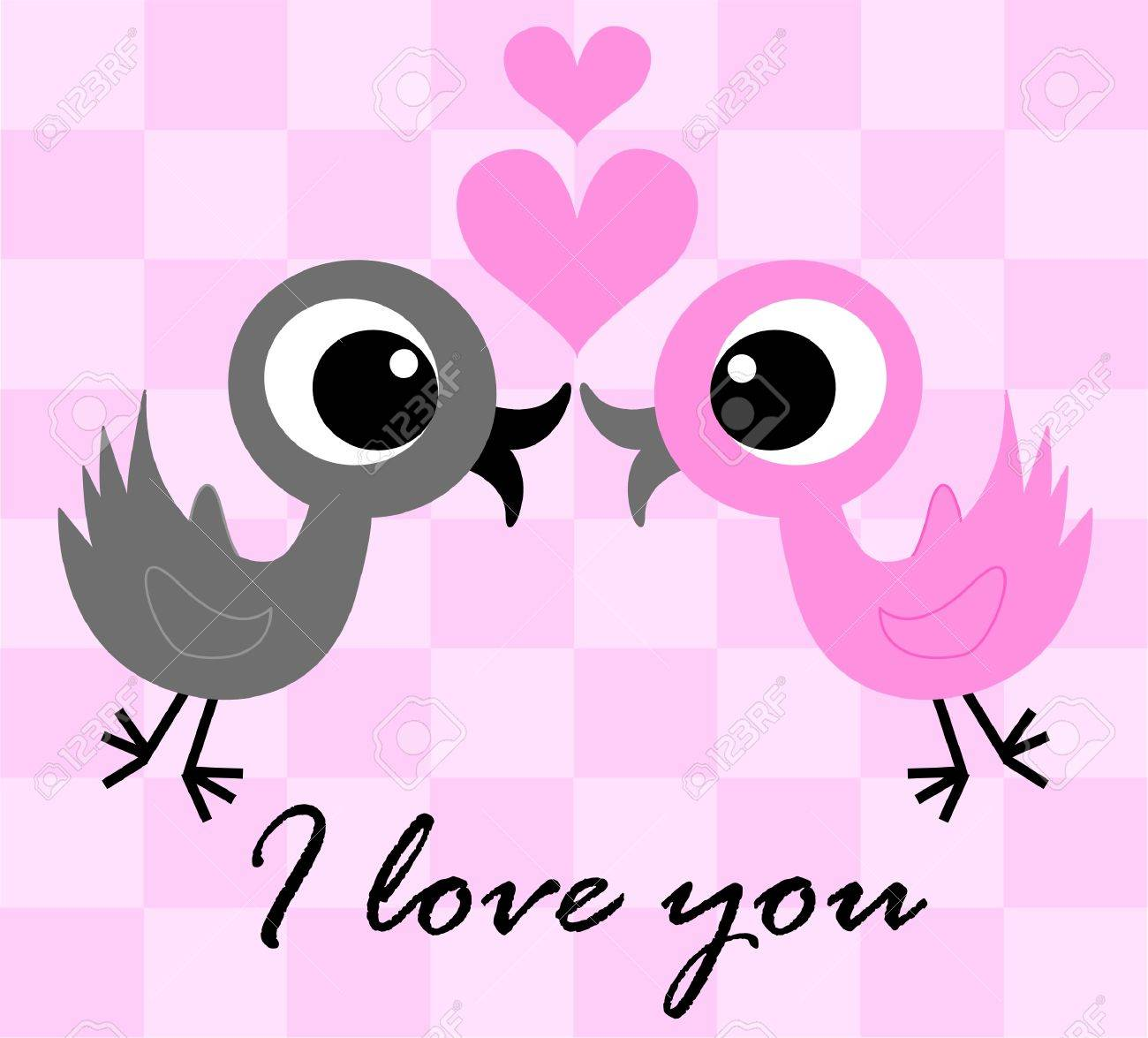 I love you Stock Vector - 7959293