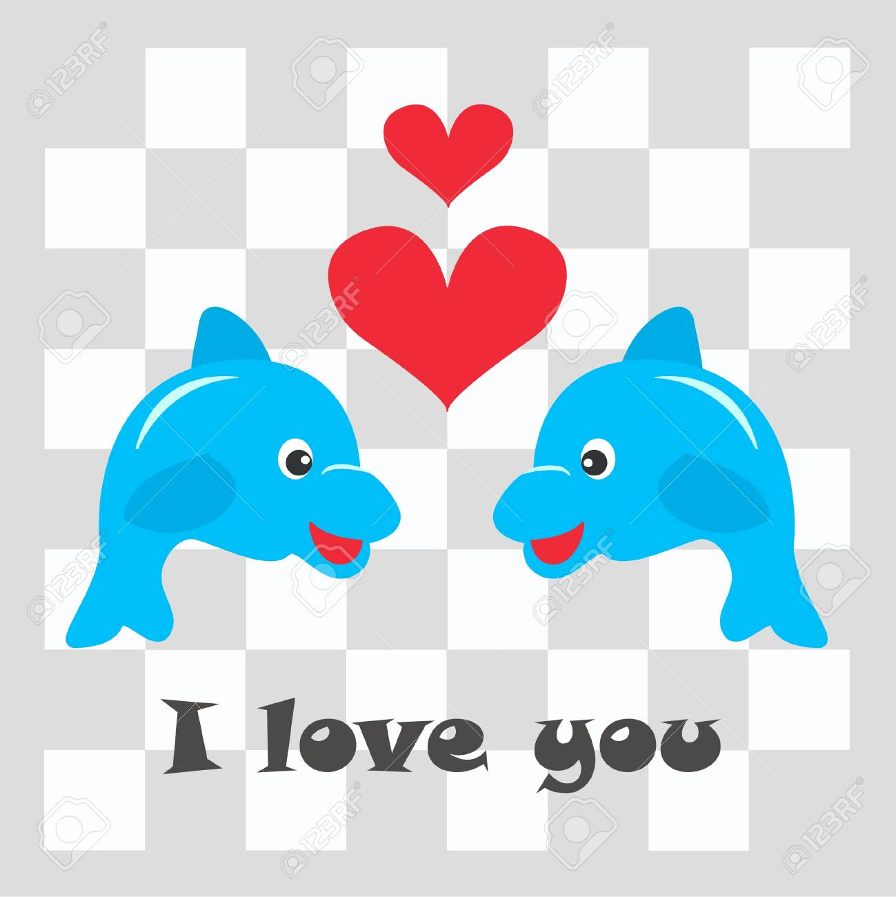 I love you Stock Vector - 8043345