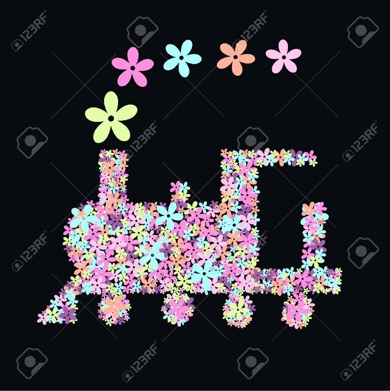 flower train - 8266344