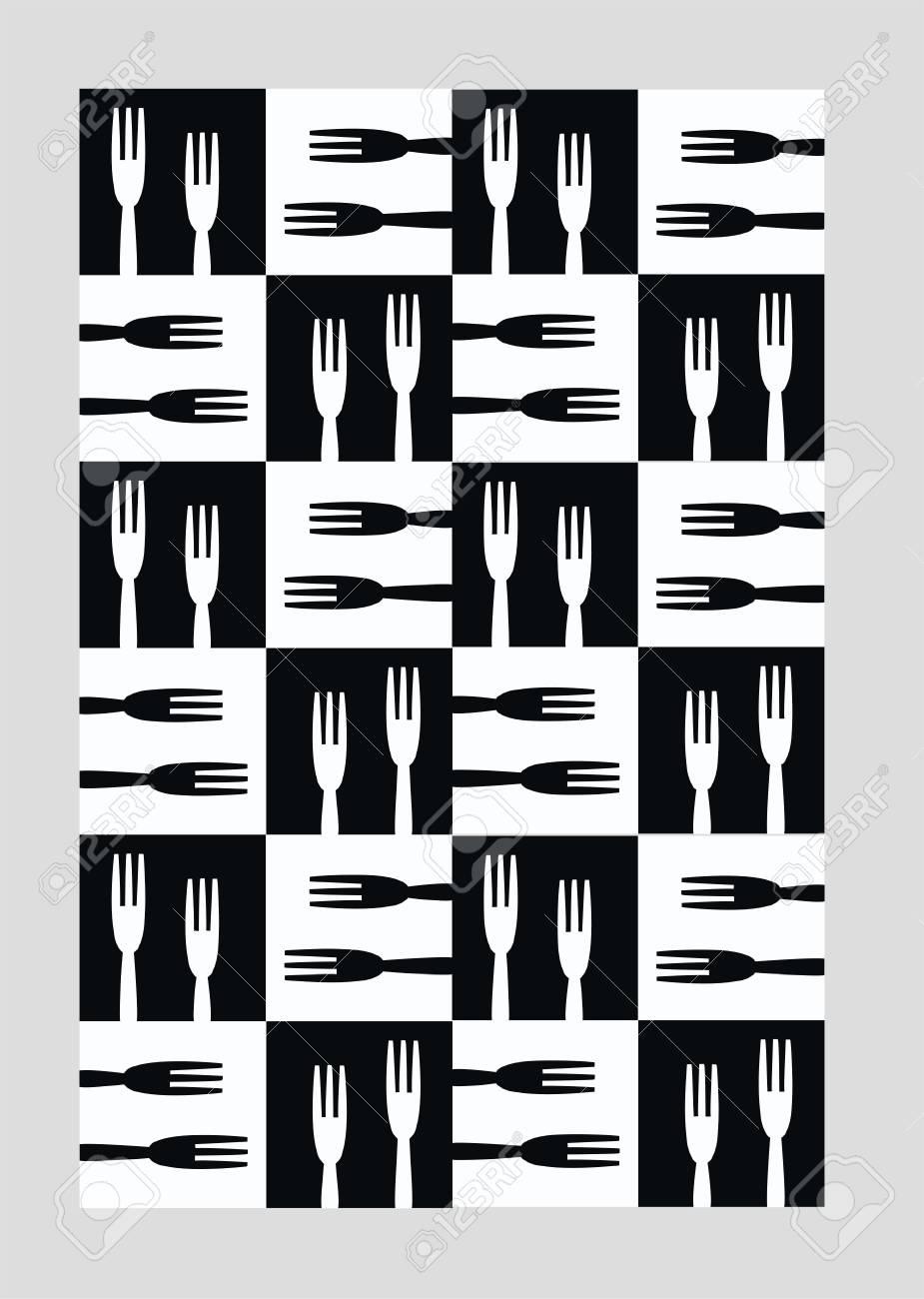 seamless kitchen pattern Stock Vector - 8266347