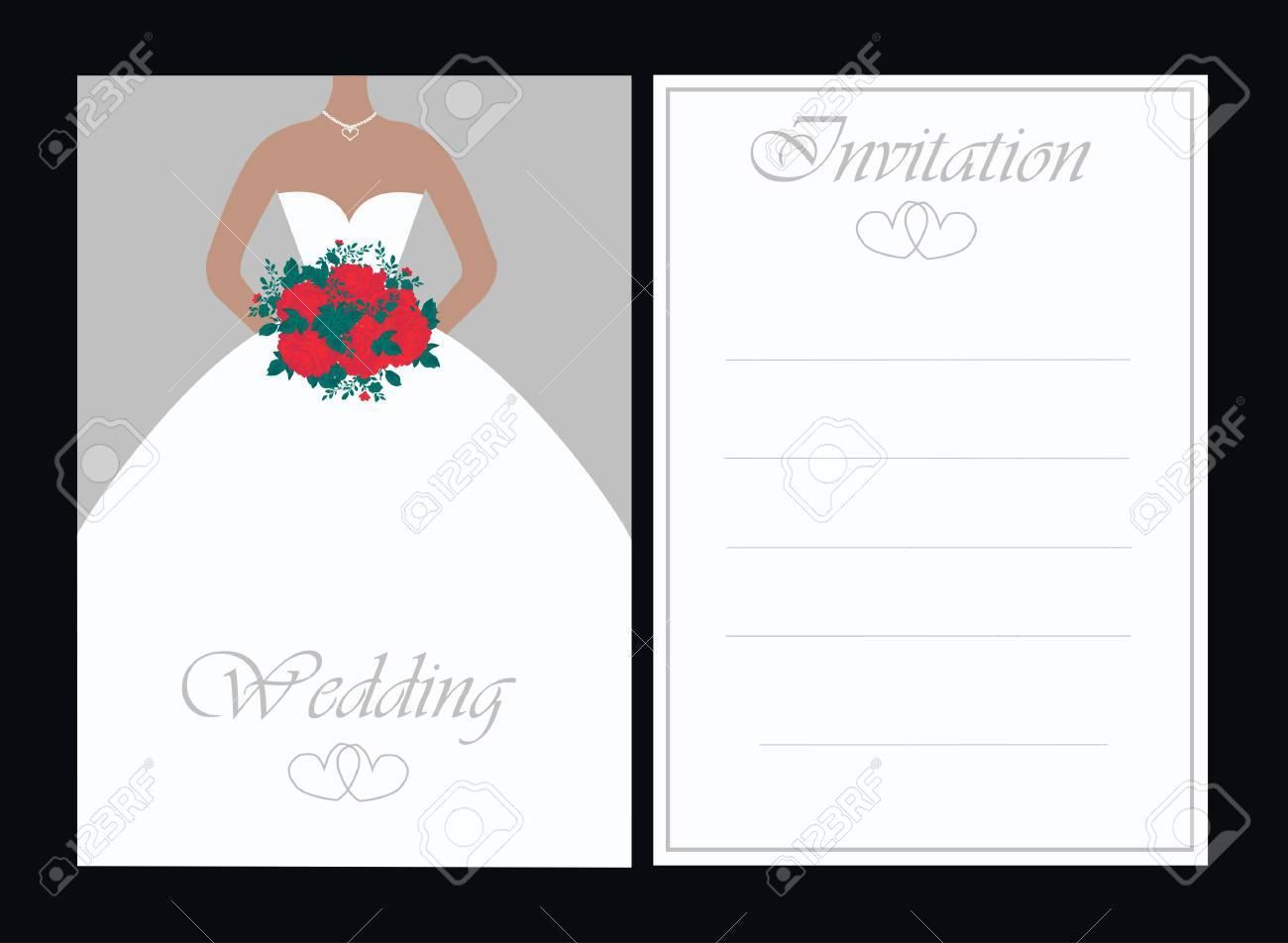 wedding invitation - 8644555