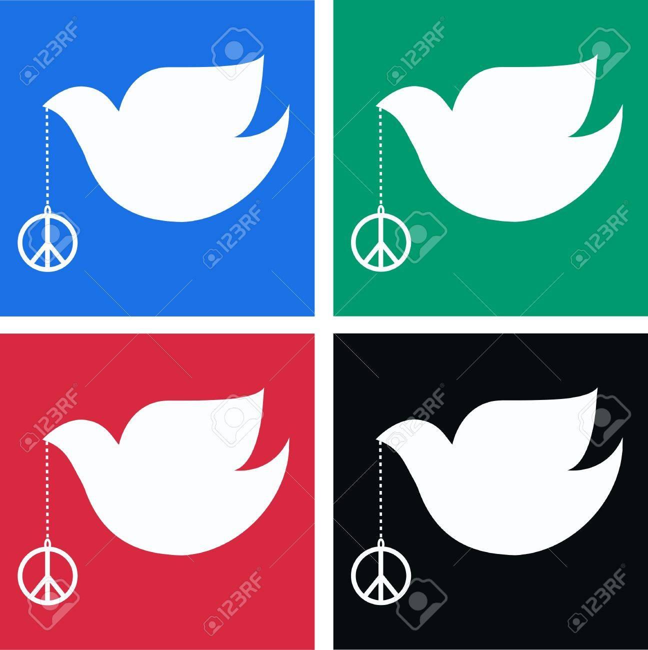 peace doves Stock Vector - 8767361