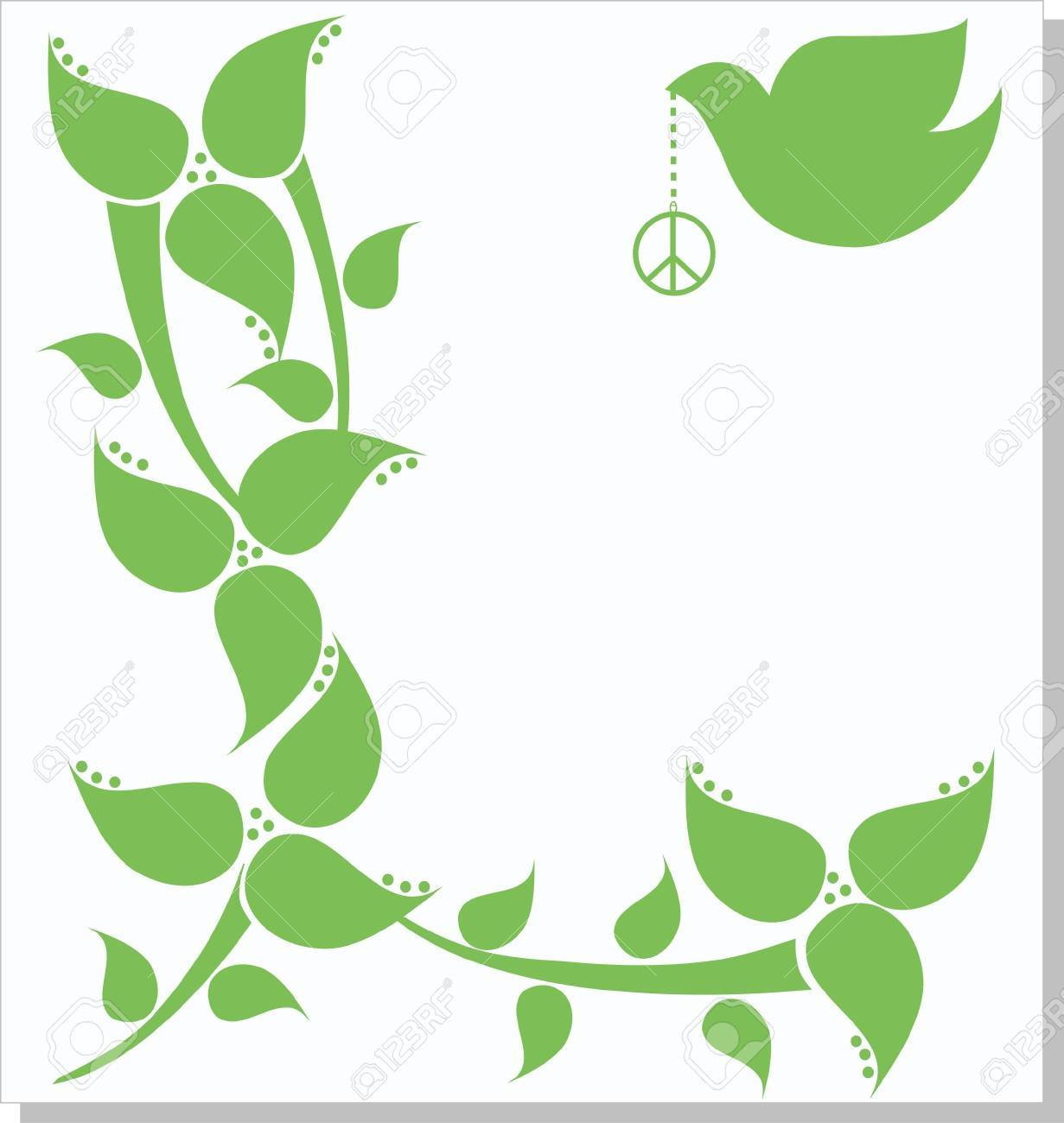 peace dove Stock Vector - 9473221