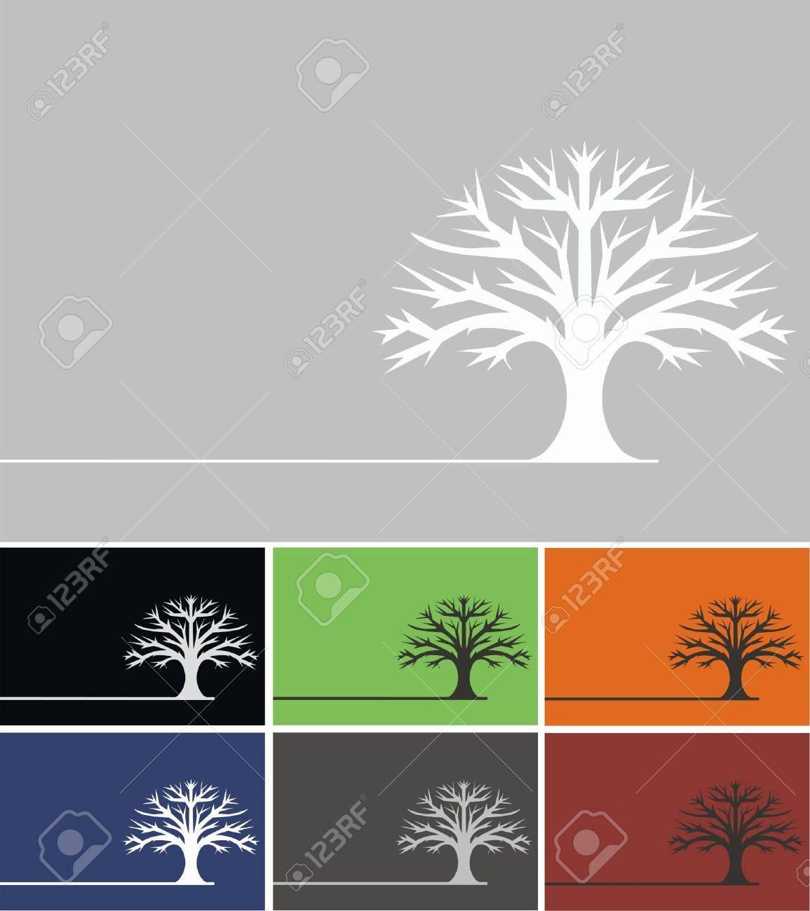 Oak Tree Royalty Free Cliparts, Vectors, And Stock Illustration ...