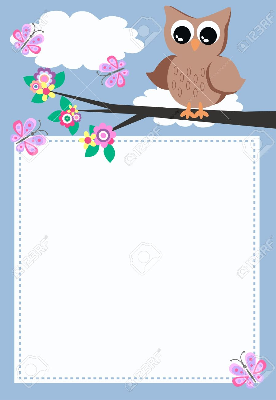 owl with a message royalty free cliparts vectors and stock  - owl with a message stock vector