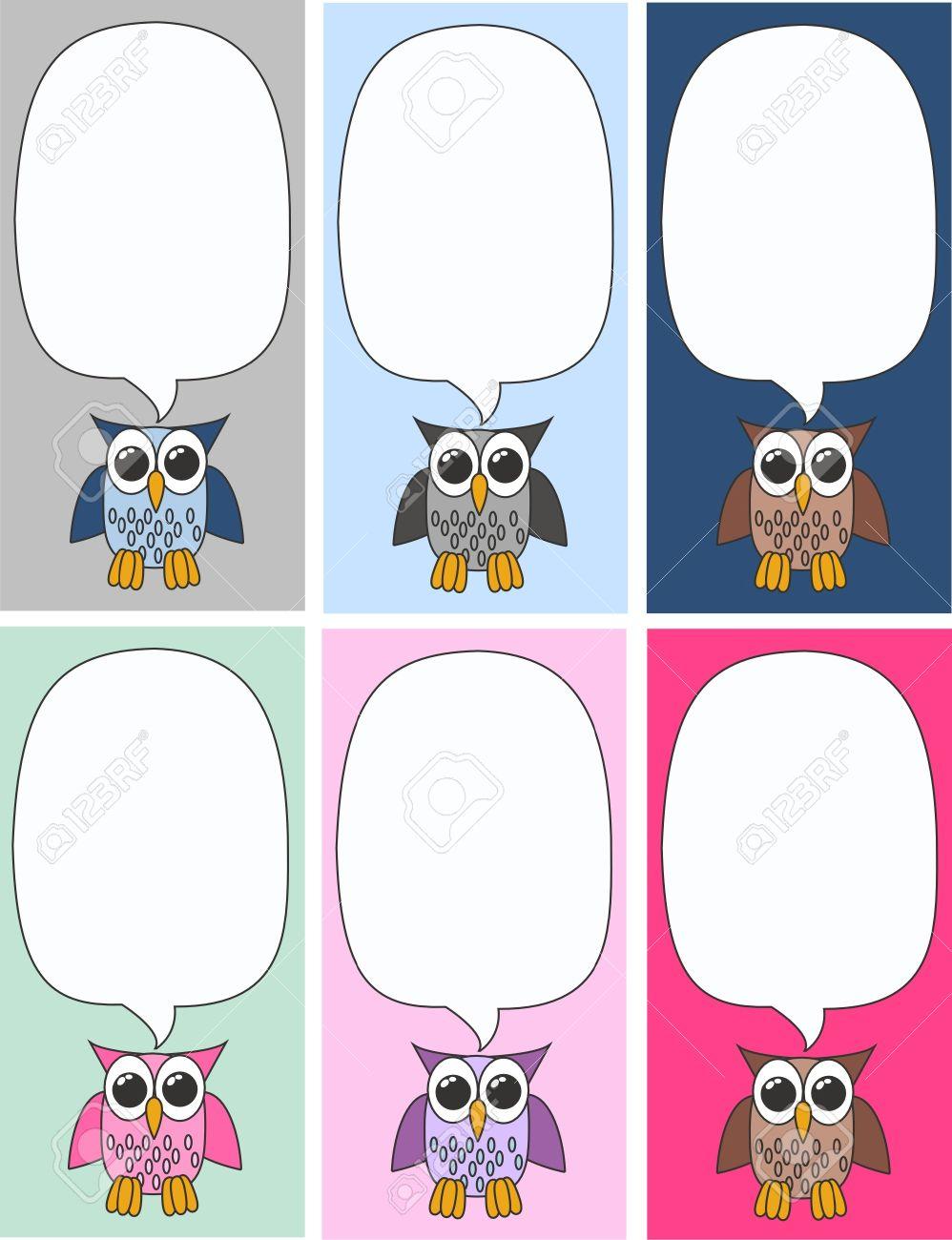 owls Stock Vector - 10121958