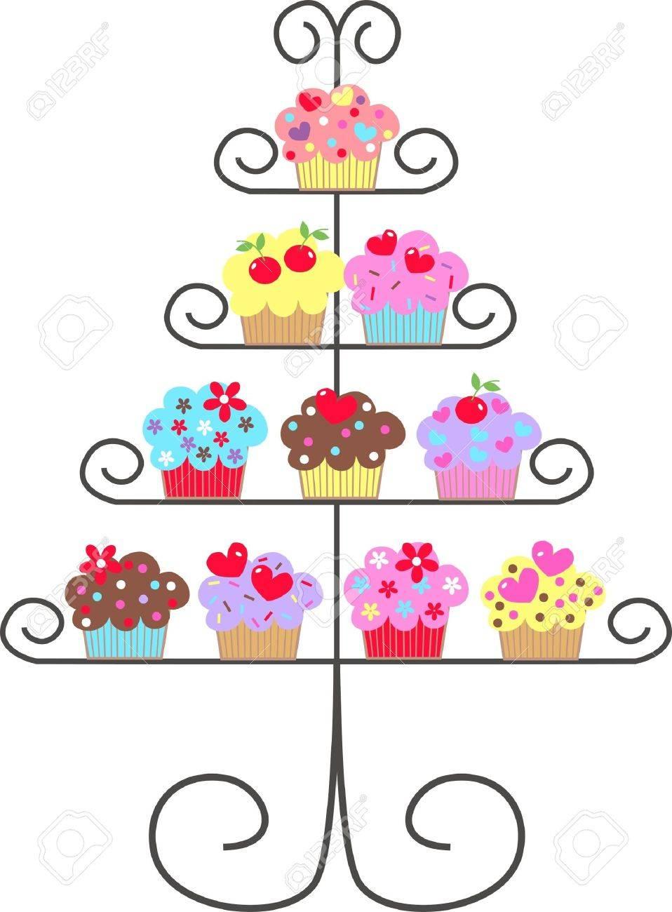 cupcakes Stock Vector - 10121962