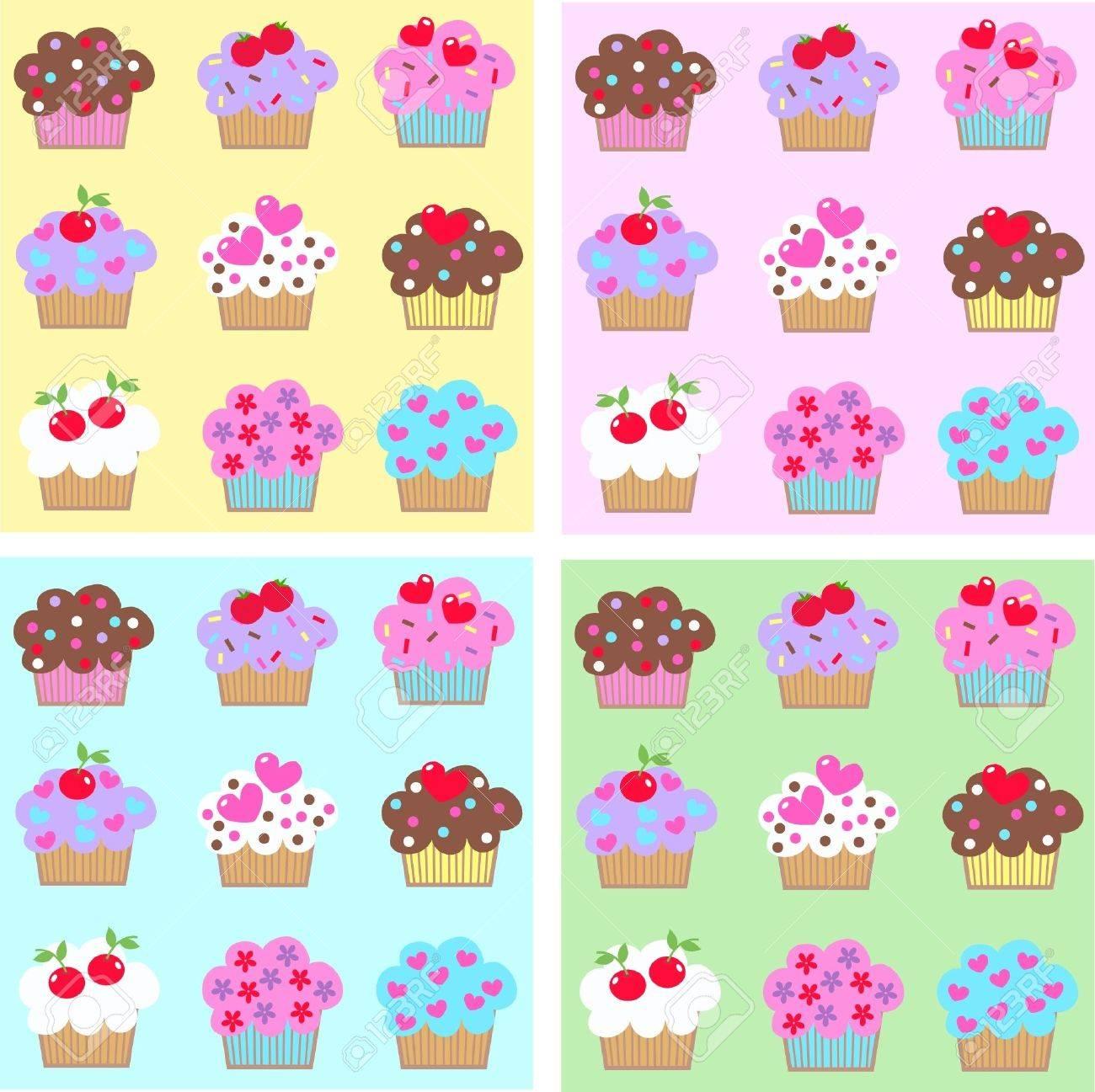 cupcakes Stock Vector - 10306869
