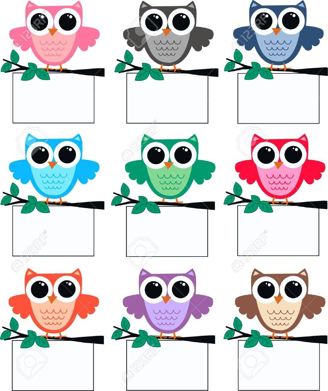 owls royalty free cliparts vectors and stock illustration image