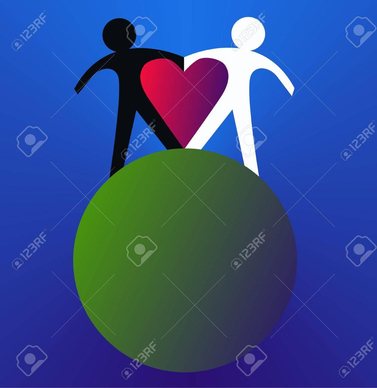 love peace freedom Stock Vector - 10864387