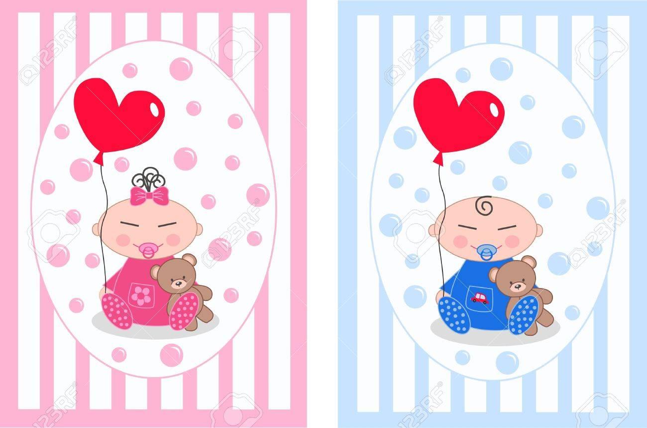asian newborn baby Stock Vector - 11056545