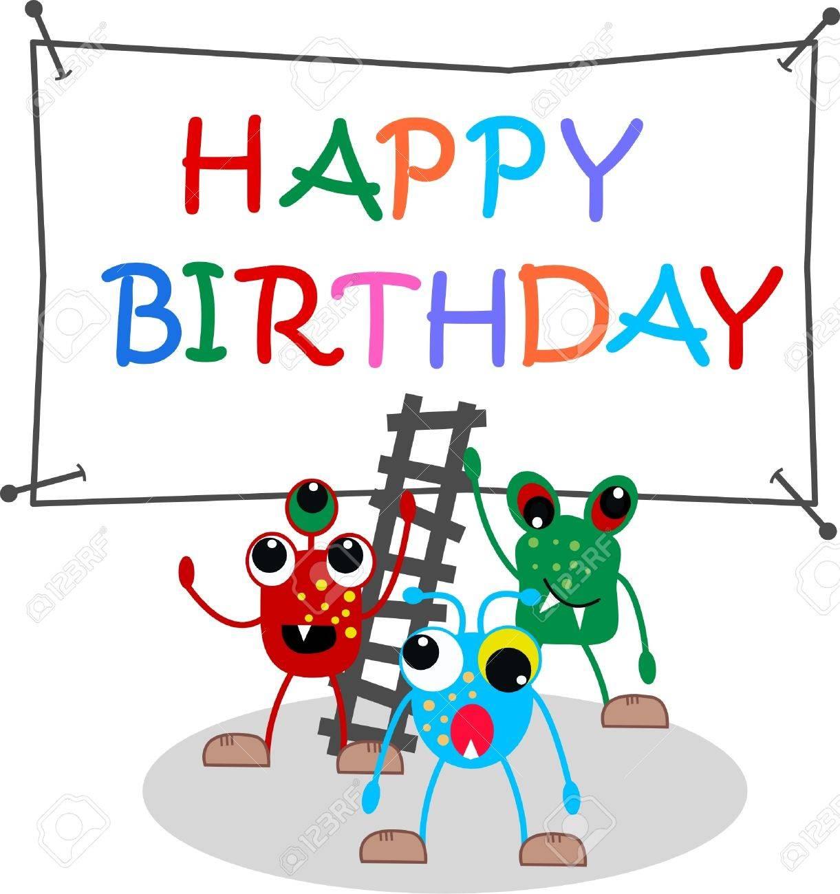 happy birthday Stock Vector - 12372082
