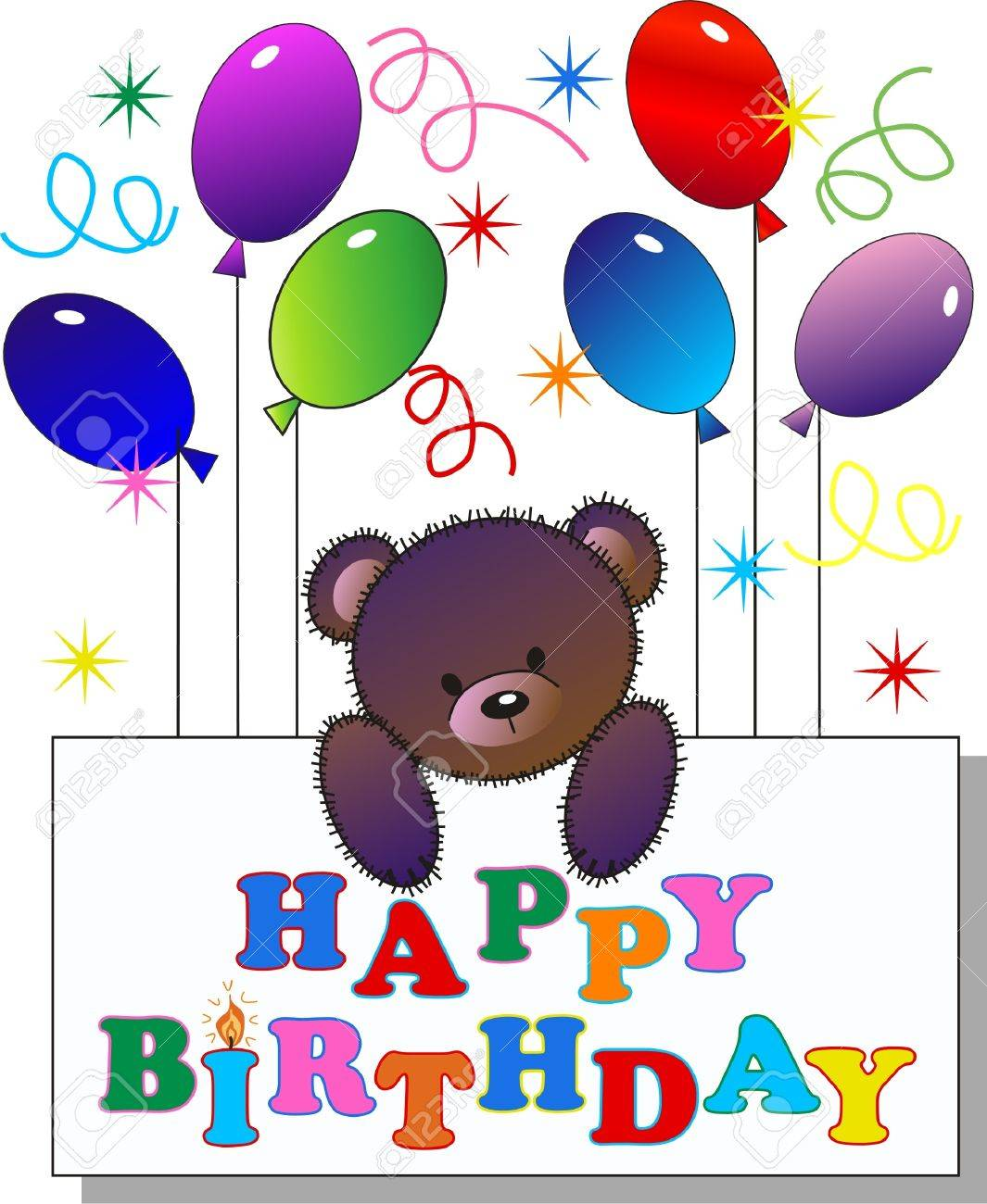 happy birthday Stock Vector - 12582462