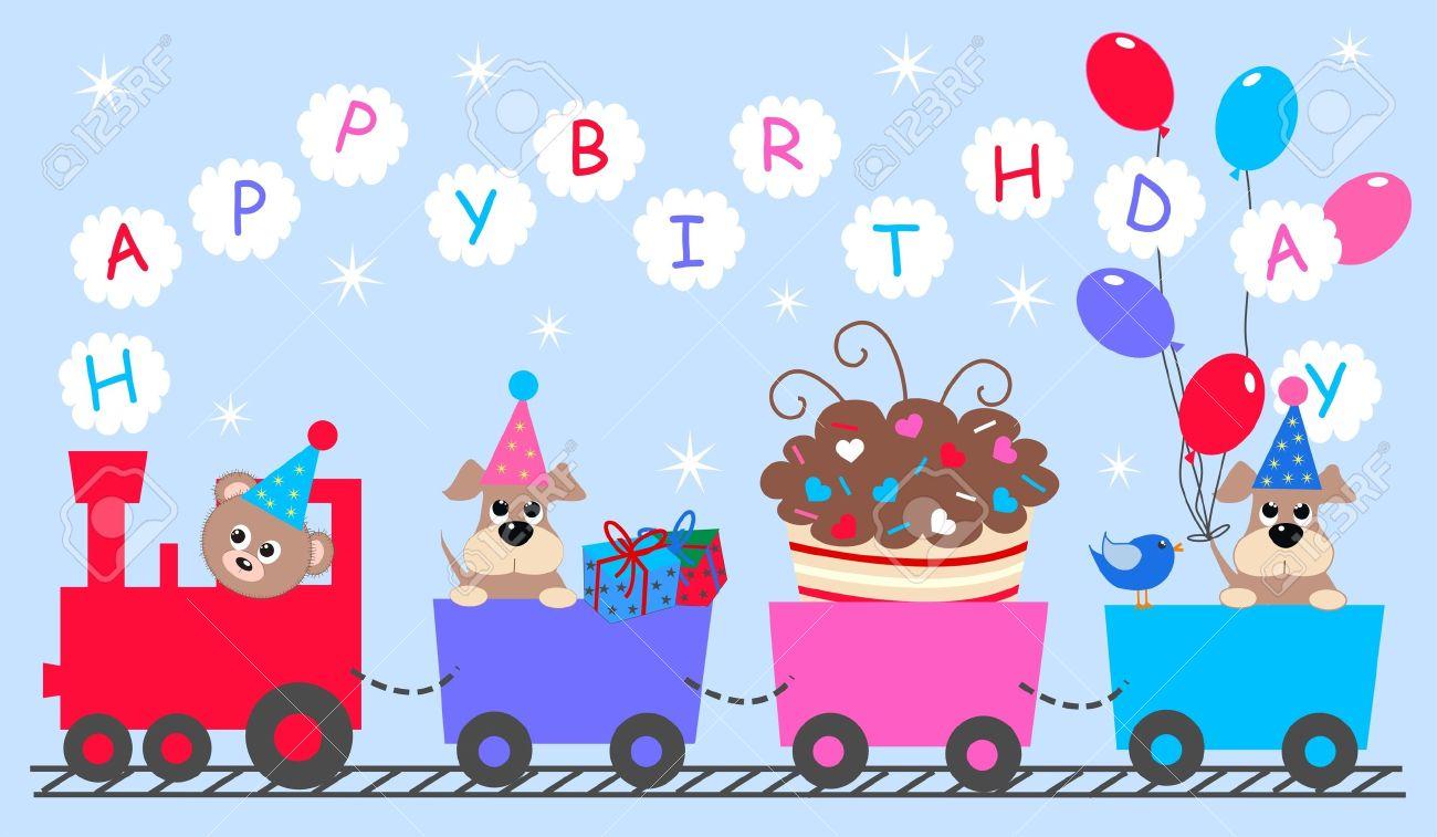 Happy Birthday Royalty Free Cliparts Vectors And Stock
