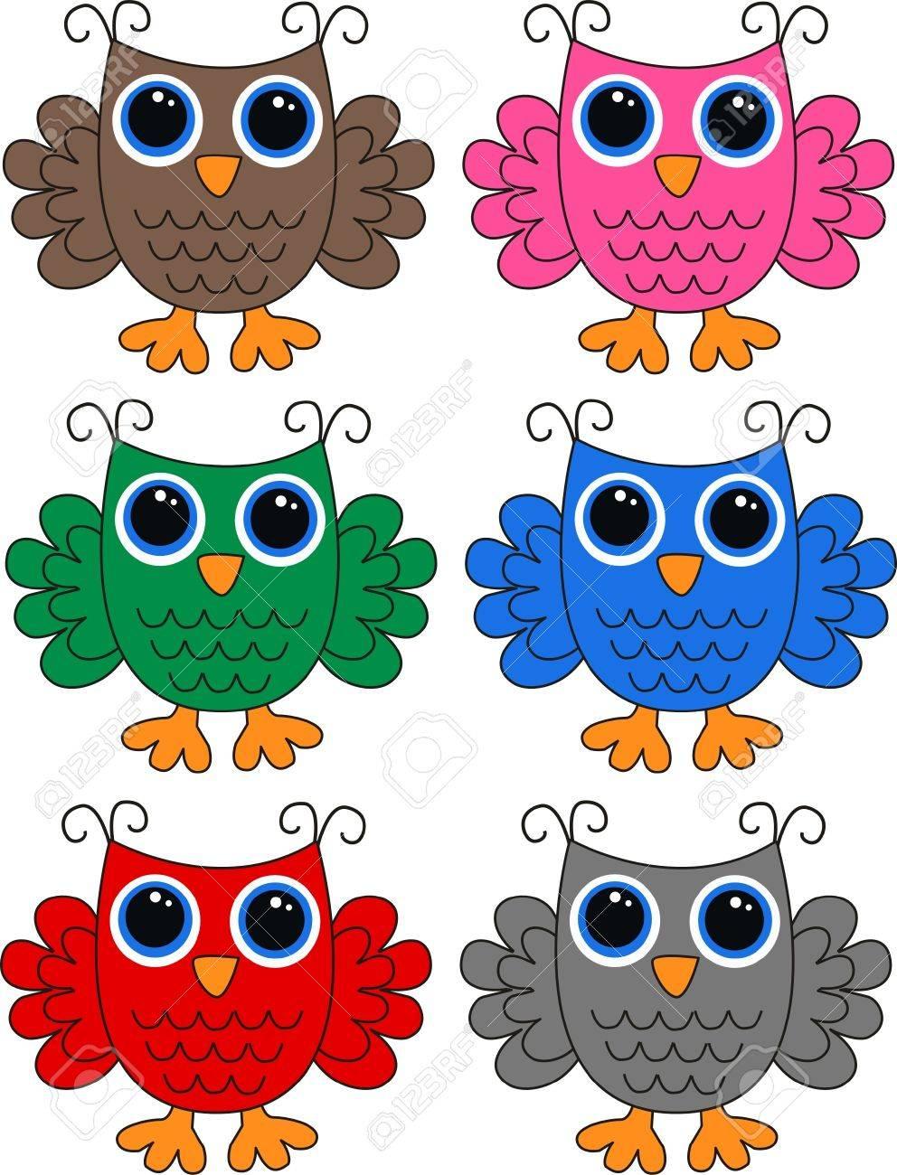 owls Stock Vector - 13310549