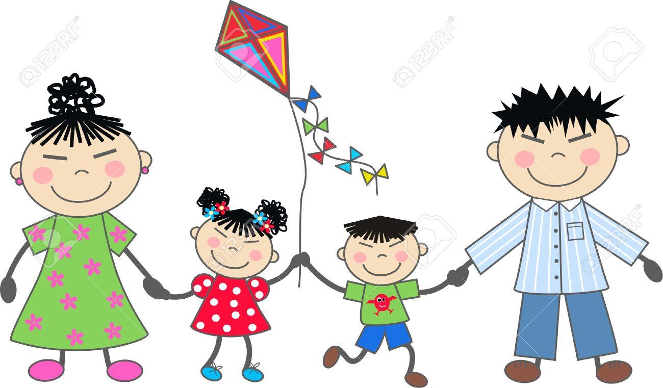 a happy family royalty free cliparts vectors and stock rh 123rf com happy family clipart free happy family clip art free