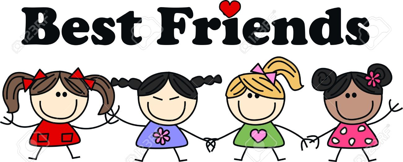 Friends Cartoon Stock Photos amp Pictures Royalty Free