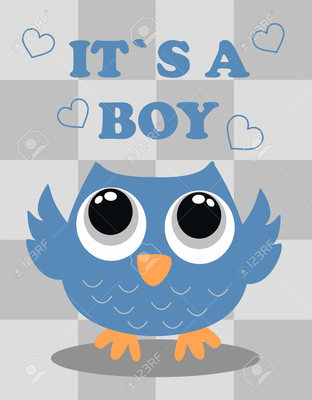 Baby Shower Boy Royalty Free Cliparts, Vectors, And Stock .
